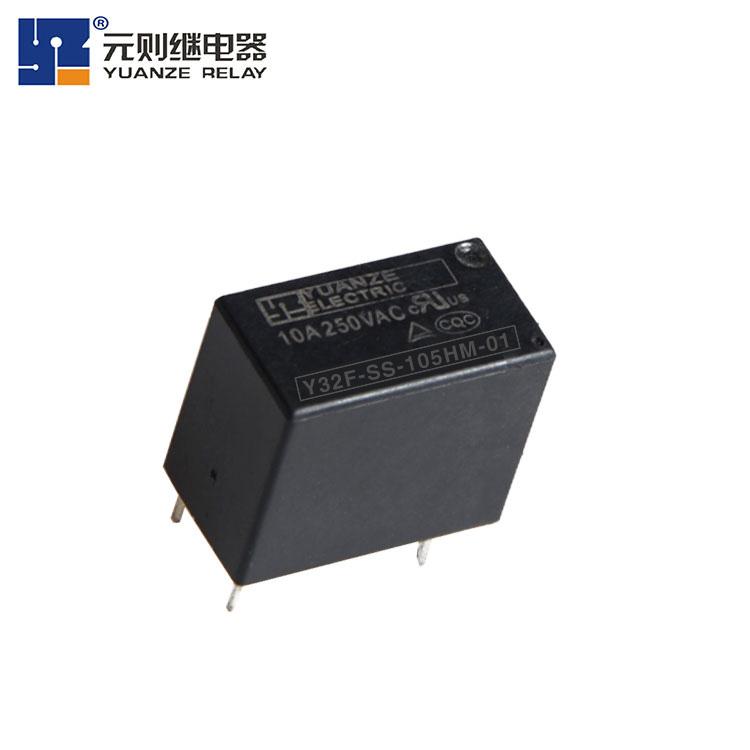 供应小型继电器 y32f替代泰科pcj 5v单刀双掷继电器 家用继电器 咖啡