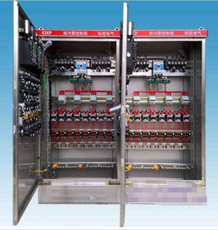 消防控制配电柜 超声波监测水泵自动控制器 水泵控制箱柜