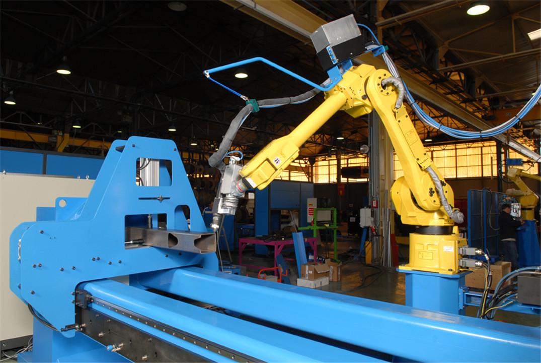 威海市fanuc工业点焊机器人改造 佛山机械手