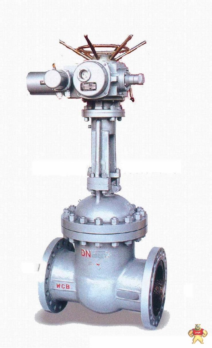 铸钢电动闸阀z941h 美标高压法兰铸钢电动闸阀dn80 温州铸钢电动法兰图片
