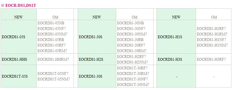 缺相保护继电器EOCRDS1-05RB 施耐德,韩国三和,韩国SAMWHA,电子式继电器,EOCR-DS1