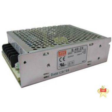 现货台湾明纬开关电源S-40-24 24V/1.8A