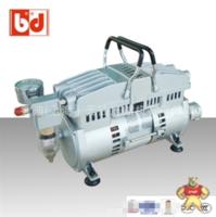 BD原装进口超静音感应式马达空压机 IC250无油静音空压机