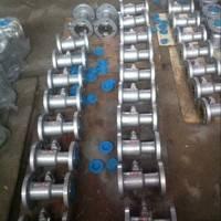 QJ641PPL气动一体式高温球阀 三科阀门