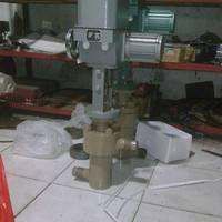 HTS气动笼式焊接调节阀 三科阀门