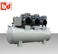 静音无油空压机 1500W无油空压机 汽车美容专用无油空压机  生产厂家彼迪供