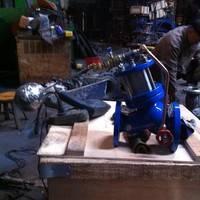 J145X活塞式电动遥控阀 三科阀门