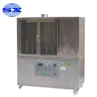 聚合物制品的阻燃性能测定仪 酒精喷灯燃烧试验装置
