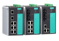 摩莎  MOXA EDS-405A-MM-ST-T 2光3电工业以太网交换机 宽温型