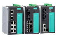 摩莎  MOXA  EDS-316-SS-SC-T 16口非网管型工业以太网交换机