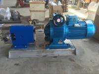 供应凸轮转子泵 又叫三叶泵 卫生转子泵 不锈钢食品转子泵
