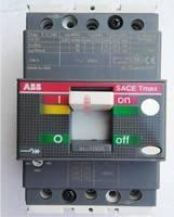 ABB交流塑壳断路器T1C160 TMD R160 FFC 3P固定式 塑料外壳式断路器 热磁脱扣