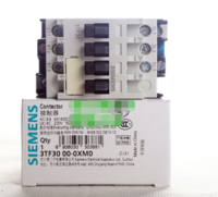 西门子国产 交流接触器3TF3000-0XM0 9A 电压AC220V 380V 接触器