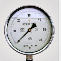 YBN-100  耐振压力表  耐震压力表 仪表电缆有限公司 安徽天康仪表电缆专卖店