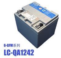 松下蓄电池金牌代理商直销LC-QA1242、松下12V42AH现货包邮 送线