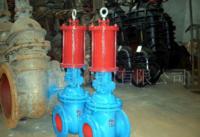 厂家直销Z741W液动闸阀(图) 铸铁闸阀 电动闸阀质量推荐