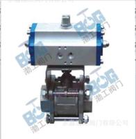 厂家直销Q611H硬密封内螺纹气动球阀质量推荐低价批发