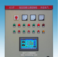 浙江乐清柳市 PLC可编程触摸屏一拖三全自动变频水泵控制柜 水泵控制箱专卖