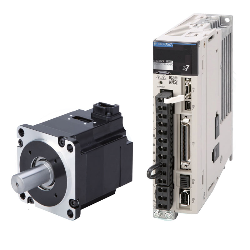 供应原装安川伺服电机SGM7J-01AFC6E+SGD7S-R90A00A002安川伺服驱动器