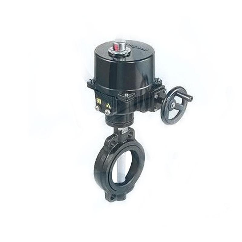 霍尼韋爾 V4BFW16-250/OM-4 開關型電動蝶閥DN250執行器400Nm