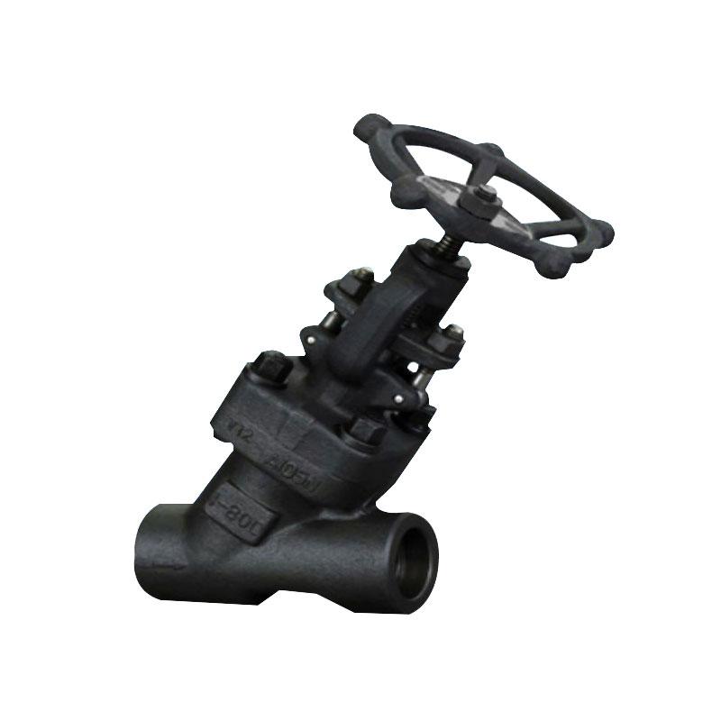 鍛鋼Y型截止閥 鍛鋼Y型截止閥J65H 高壓鍛鋼截止閥