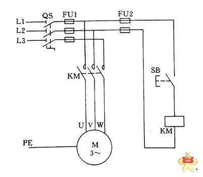 三相异步电动机启停控制电路设计详解