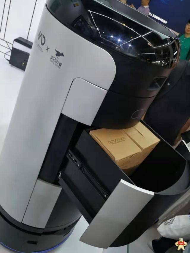 美团已开始试水无人机和机器人送外卖