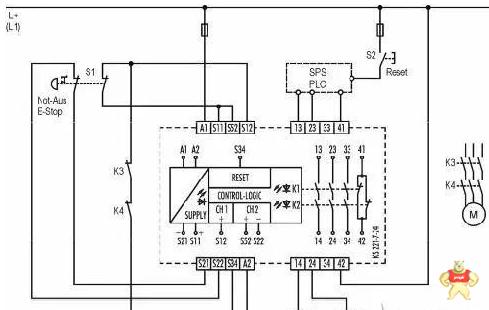 安全继电器工作原理以及使用方法图解