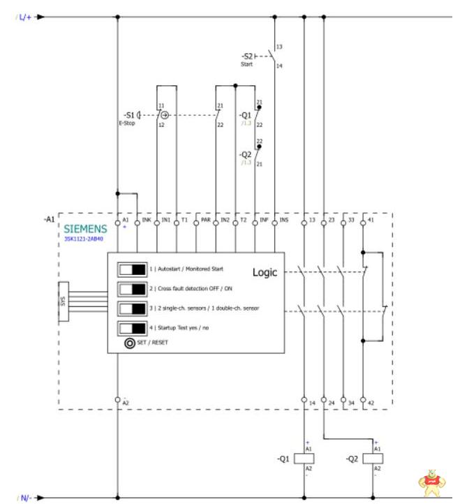 西门子安全继电器的应用