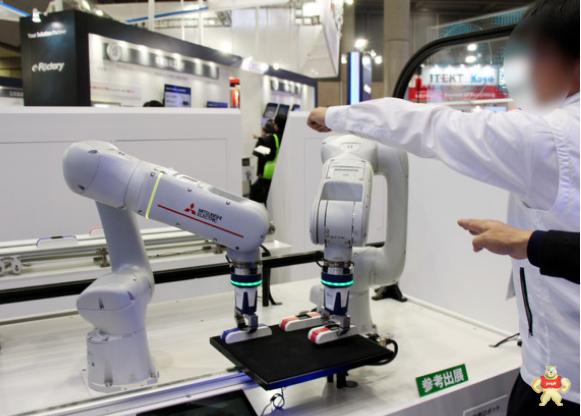 三菱电机不受人为干扰的机器人作业系统正式发布