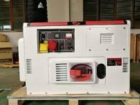 8kw发电机 家用8000w小型柴油发电机组 备用电启动汽油机10KVA