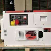 上海悍莎品牌双缸风冷柴油发电机组8kw车载发电机组
