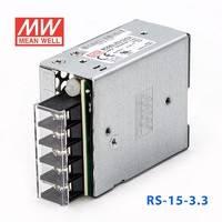 台湾明纬RS-15-3.3明纬电源9.9W/3.3V/3A单路输出 高性能开关电源