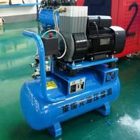 无油静音空压机 静音空压机 高压静音空压机  污水处理专用