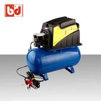 厂家直销 车载直流空压机  汽车修理专用   野外专用无油空压机  便携式无油空压机