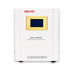 德力西稳压器 家用220v全自动3000w电脑冰箱音响电源稳压tnd3-3k