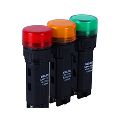 德力西指示灯 信号灯 LD11-16A 16B 16C 黄 绿 红 白 蓝 16孔径