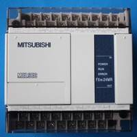 FX1N-24MR-001 AC电源 DC电源输入 三菱PLC 14点漏型输入 10点继电器输出