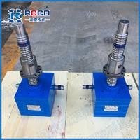 厂家在售精密SJB蜗轮丝杆升降机 定做推杆式丝杆升降机 蜗轮蜗杆副