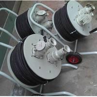 50米防爆移动拖线盘,移动式防爆电缆盘拖车