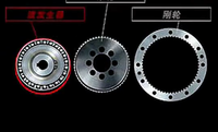 高精密谐波减速机 LCS-17-50-C-I-60 绿的谐波减速机 机器人谐波减速机