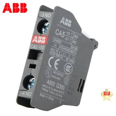 全新原装正品ABB接触器辅助触点CA5-10 NO常开CA5-01 NC常闭 现货