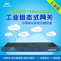 WK-E-L4R8C2微控设备级网关4网8串Modbus以太网协议转换工业网关