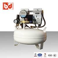 厂家直销静音无油空压机 BD1100W高压无油静音空压机