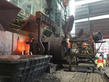 钢包加盖-钢包全程加盖-钢包全程智能加揭盖成套设备 炼钢,加盖,节能环保,自动化,钢包盖