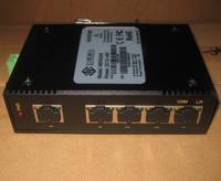 MIEN2205-DC24V 百兆5口非网管卡轨式以太网交换机
