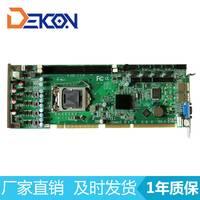 工控厂家直销高端B75工控主板 工业全长卡 支持PCI/ISA DFC-1075