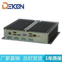 工控厂家直销无风扇多串口工控机 1037 Mini电脑主机 DEC-1037