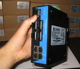 MIEN6208-4S-SC20-DC24 8口百兆网管型卡轨式以太网交换机
