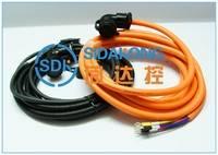 数控***专用  伺服电机编码线和动力线  五米线长  防水防油耐磨